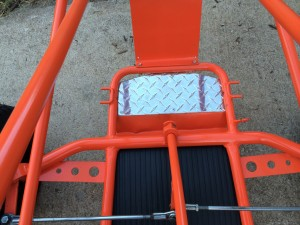 diamont plate floor pan