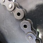 go kart sprocket with roller chain