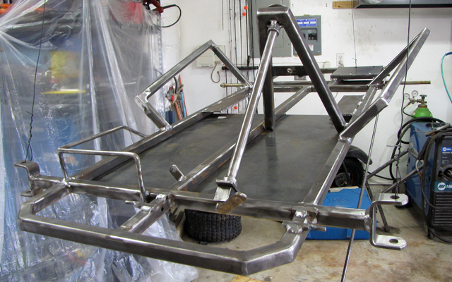 Go Kart Frame Plans How To Build A Frame