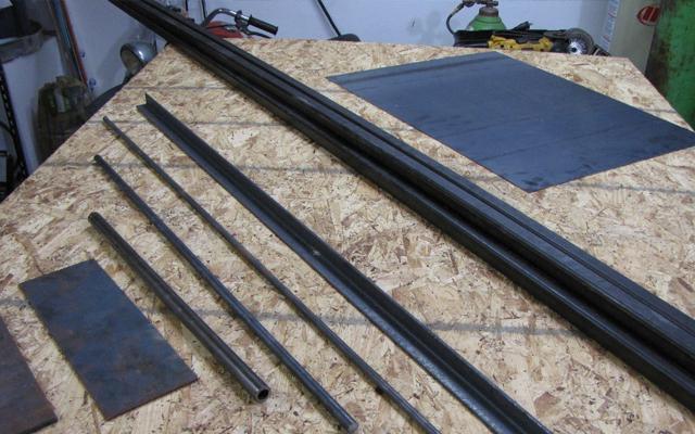 go kart steel thickness