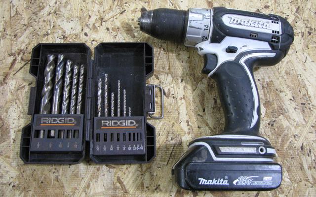makita drill and drill bit set