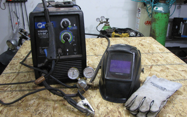 millermatic 211 gas mig welder