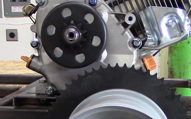 go kart clutch installation