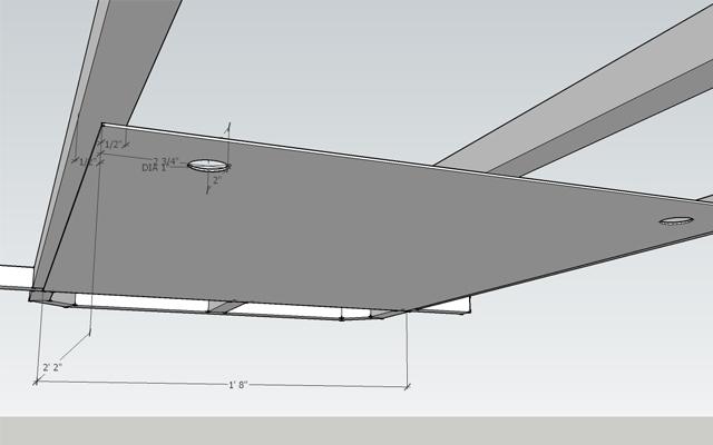 sketchup floor pan