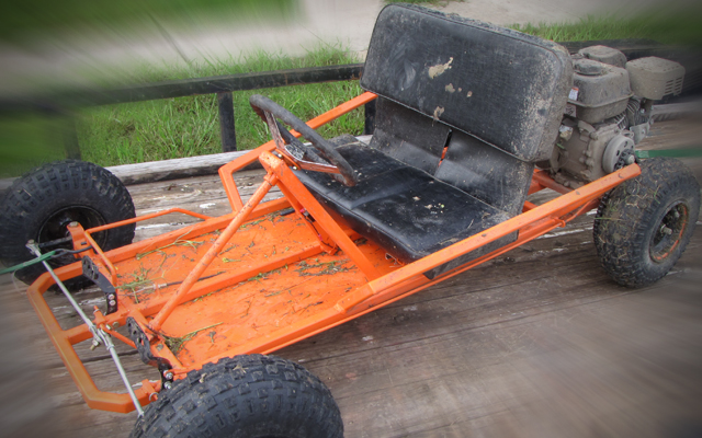 muddy go kart