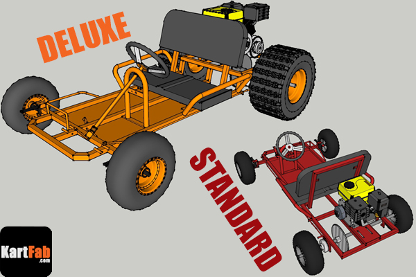 Go Kart Live Axle Plan Bundle
