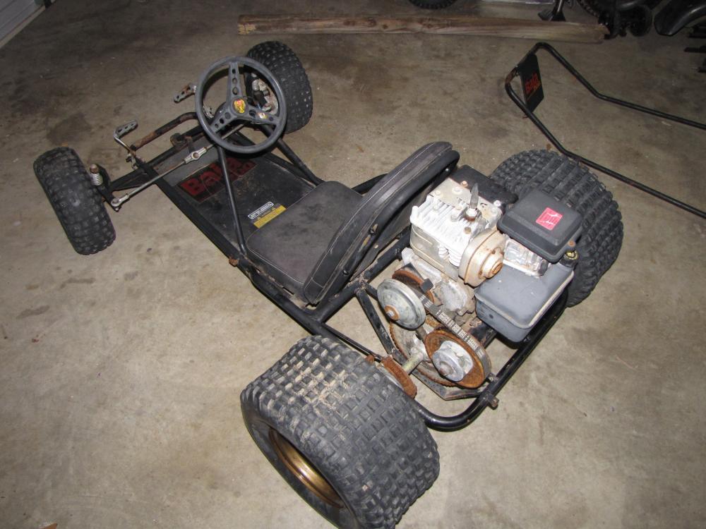 Manco Baja 200 Go Kart Restoration (Dingo) - KartFab.com