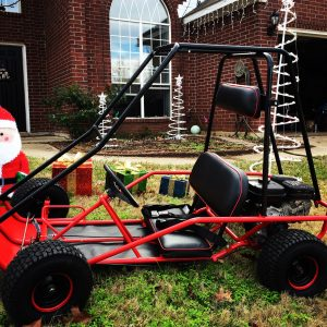 manco little critter, fox go kart