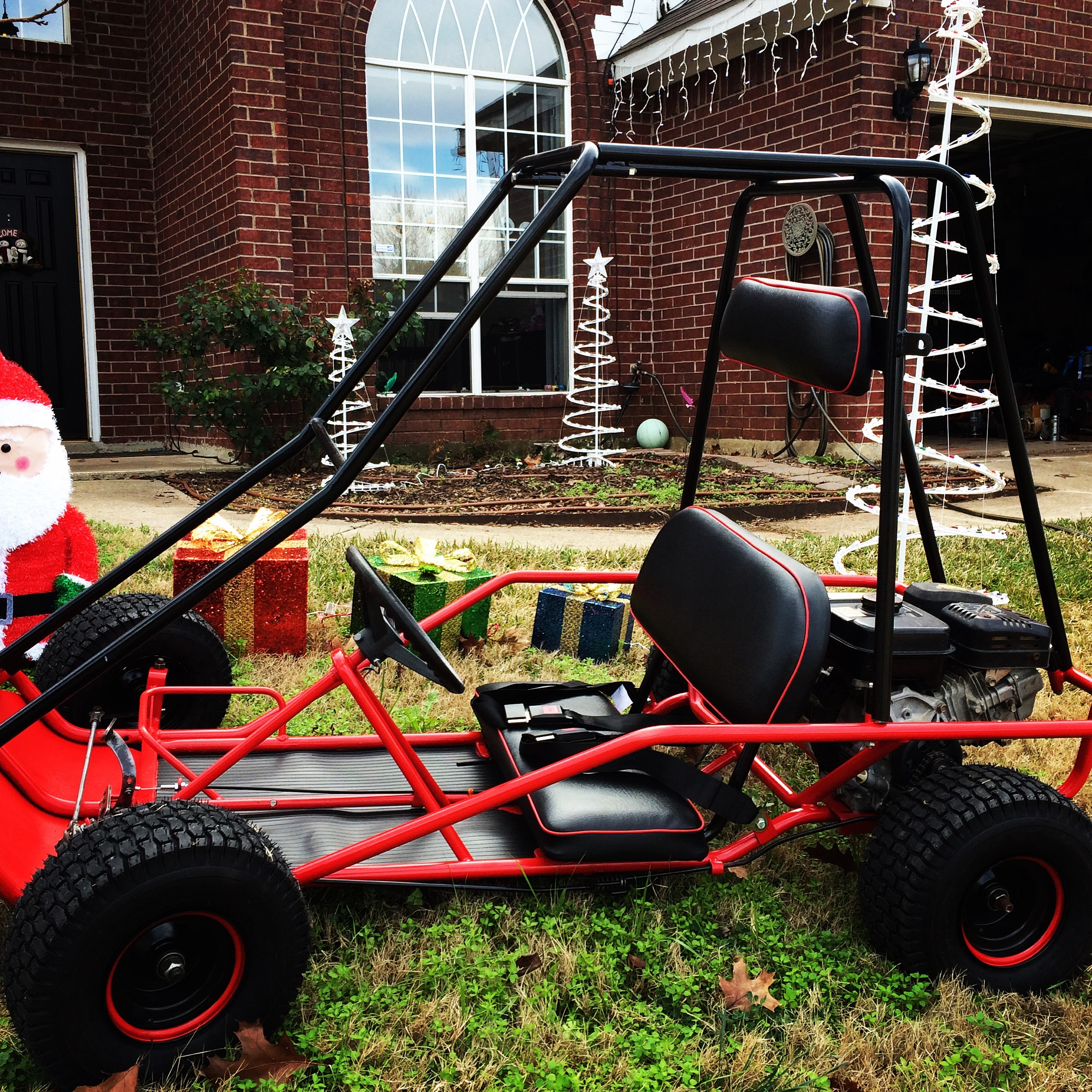 Three 2 Seat Manco Go Karts for Kids Just in Time for Christmas ...