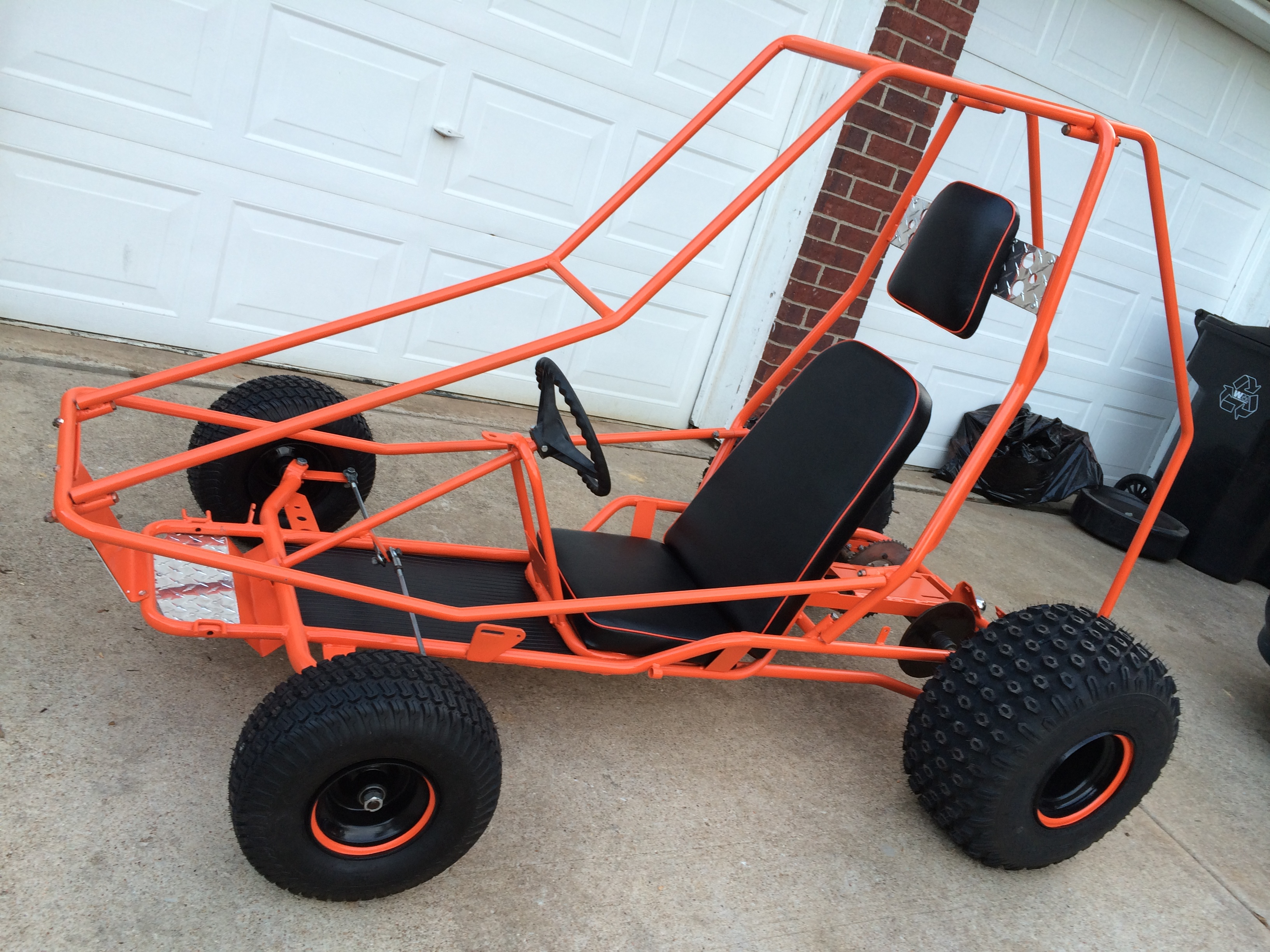 Manco Dingo 13 hp Off Road Go Kart - KartFab.com