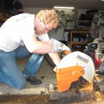 Abrasive Cut Off SAw