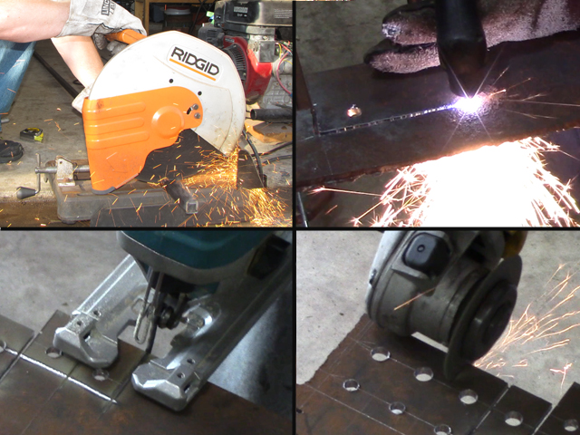 4 ways to cut steel tubing and plate