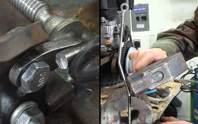 go kart brake rod fabrication