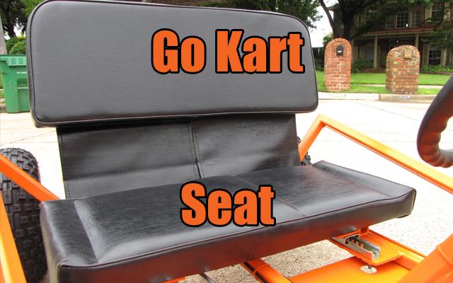go kart seat