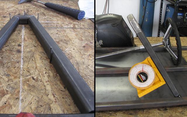 go kart steering hoop design