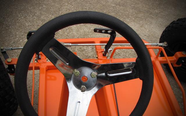 go kart steering system